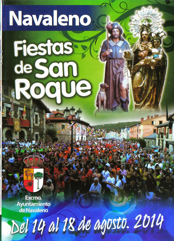Cartel San Roque 2014