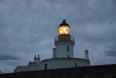 Lighthouse Near Inverness, Scotland