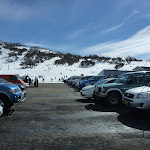 Looking over Smiggins car park to ski area (301228)