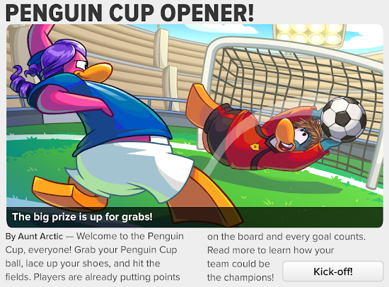 Club Penguin Times Penguin Cup Opener!