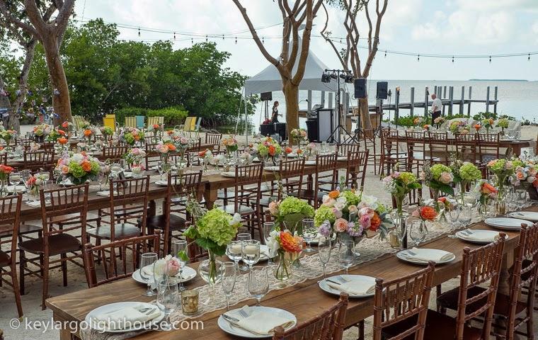 Elegant Valentine's Day Wedding in Key Largo Florida