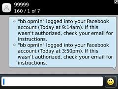 konfirmasi akses facebook dari perangkat tidak dikenal