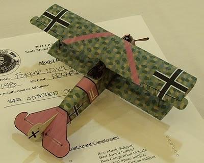 Fokker D.XII model
