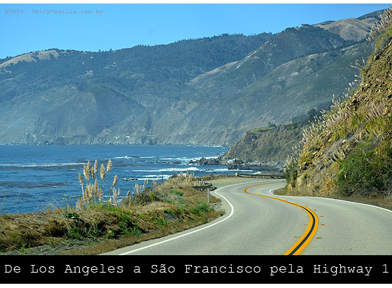 rota 1n - De Los Angeles a San Francisco pela Highway 1