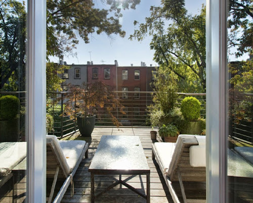 jenna lyons home brooklyn townhouse interior design beautiful view