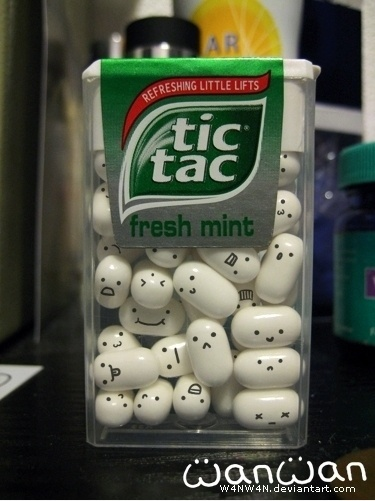 Emoticons Tic-Tac