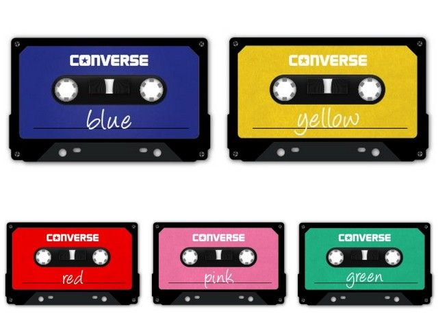 Mixtape Colors by Converse: As cores do rock n' roll