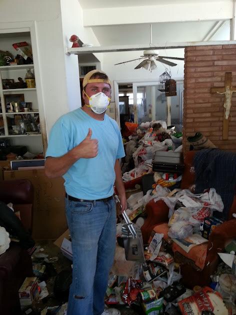 hoarder trash clean up, san antonio junk hauling