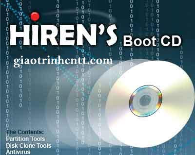 Tài Liệu Sử Dụng Đĩa Hiren Boot CD Toàn Tập