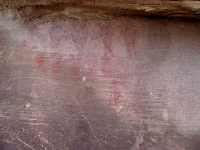 South Temple Wash pictographs