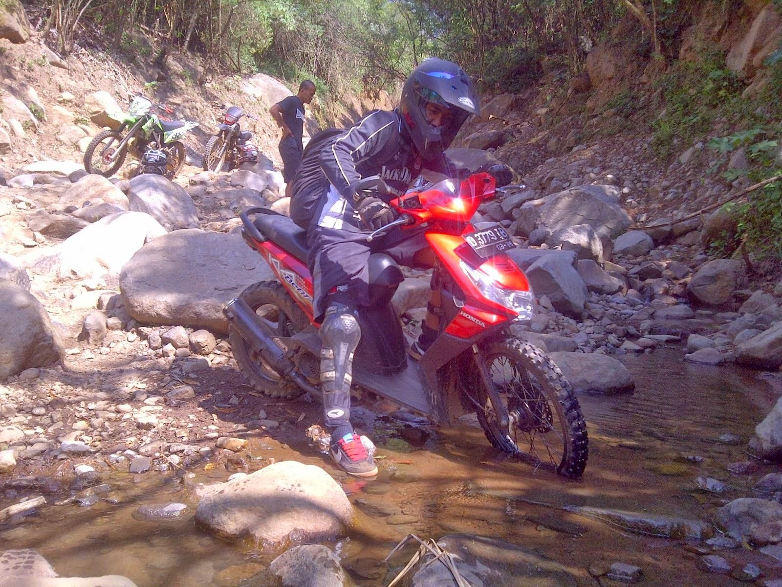 Honda Beat Modifikasi Trail