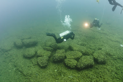 Ancient hunting trails found on bottom of Great Lakes