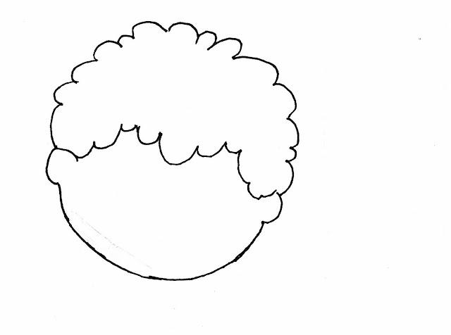 Maestra de Infantil: Esquema corporal. Caras para dibujar.
