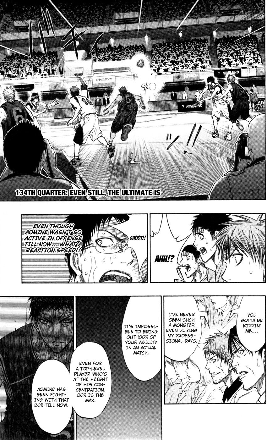 Kuroko no Basket Manga Chapter 134 - Image 01