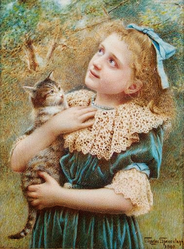 Charles Spencelayh - Kitty Spencelayh