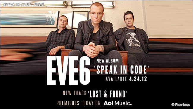[Album Baru 2012] Speak in Code -  Eve 6