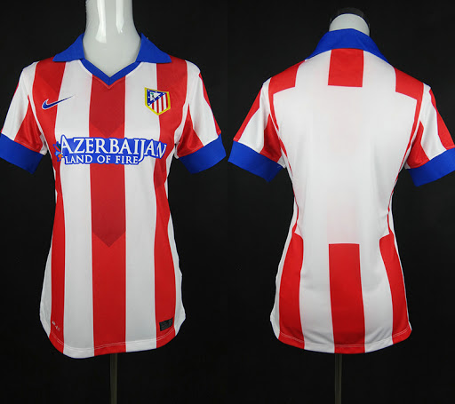 Jersey Ladies Atletico Madrid Home 2014-2015