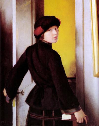 William McGregor Paxton - Leaving the Studio