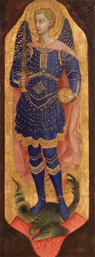 ANGELICO Fra Saint Michael, 1424-1425
