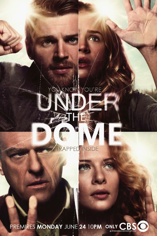 under the dome promo poster v by ryodambar d6822xh Antecipação de Under The Dome, nova série de Stephen King e Steven Spielberg.