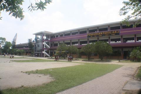 Gedung Sekolah Parulian 2 Dari TK, SD, SMP, SMA & SMK BM.