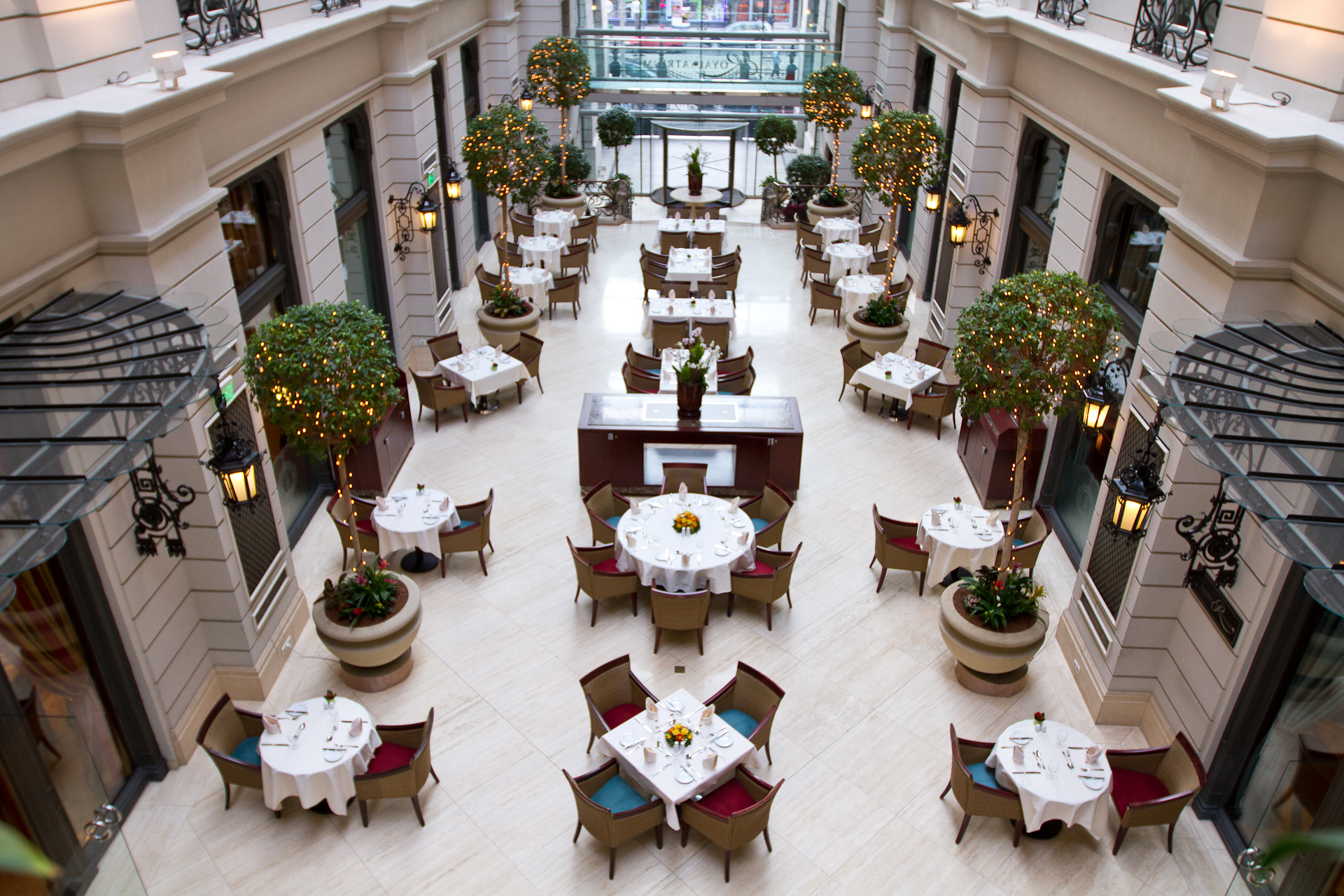 Weekend Dining at the Brasserie & Atrium in Budapest