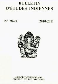 Bulletin d'études indiennes 28-29, 2010-2011