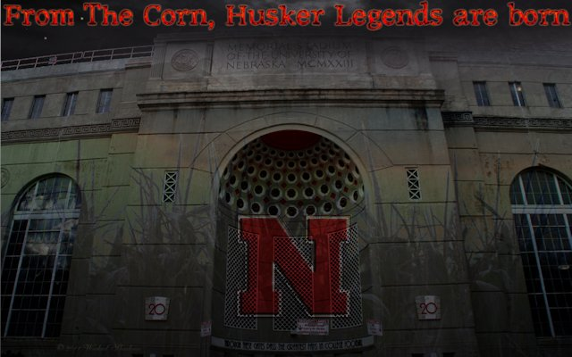 Nebraska Cornhuskers Memorial stadium Legends
