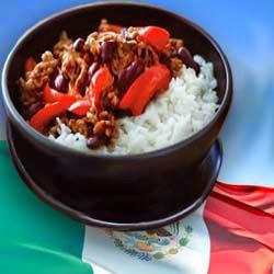 Рецепт приготовления мясо по-мексикански с фасолью
