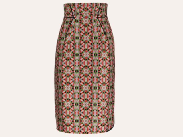Fun High Waisted Skirt von Dorothee Schumacher