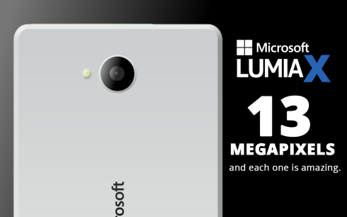 Microsoft Lumia X - mẫu flagship tiếp theo thuộc dòng Lumia