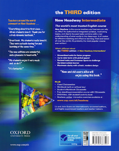 Oxford new headway intermediate third edition students book l j payments fandeluxe Image collections