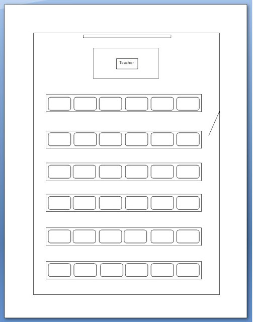 tales of a teacher  computer lab seating chart