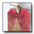 Thumbnail for making Holiday Tags using Distress Stains