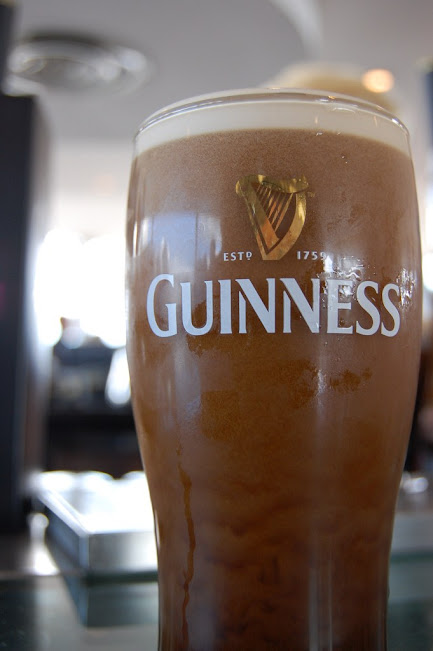Guinness Storehouse - frisches Guinness
