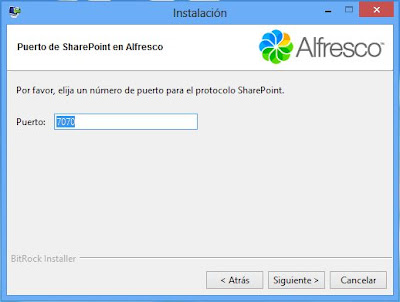 Instalar Alfresco Community 4.2 en Windows 8, convertir PC en gestor documental