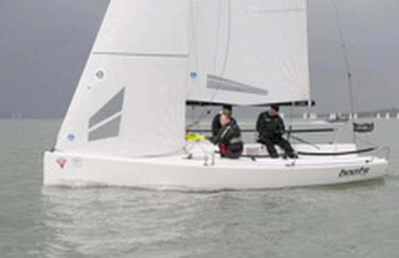 J/70 boats.com sail-training in England