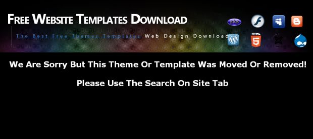 Free Bleu Windows Vista Blogger Theme Template