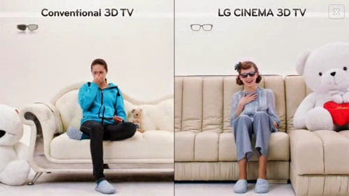 Flickering Free 3D LG Cinema 3D Smart TV
