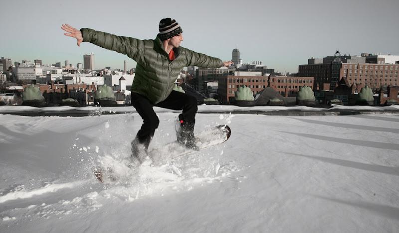 Black Cordarounds Snow Boarding