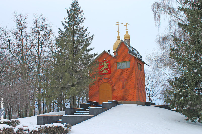 Мемориал боевой славы в честь героев Курской битвы