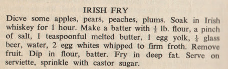 Irish Fry | 250 Irish Recipes 1959