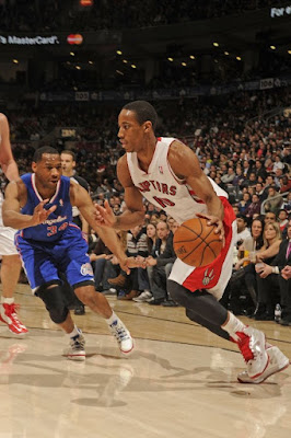 wearing brons nba lebron10 id demar derozan 03 Wearing Brons: Breds, Carbons, Canaries, Xmas, IDs and More!