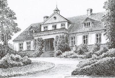 Dwór w Jurczu – stan przed 1945 r.