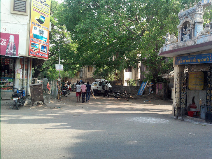 Barricade removed - Ashok Nagar, Chennai