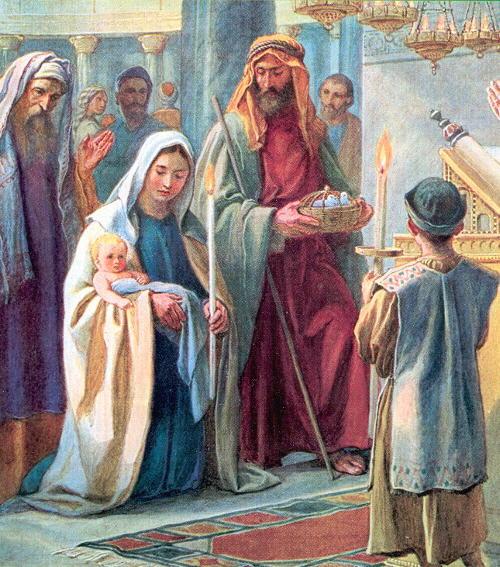 Virgen Matrimonio Biblia : Amor eterno presentación del señor en el templo y