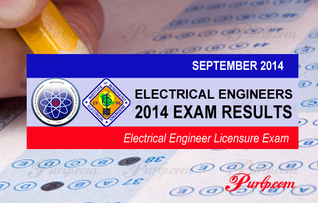 September 2014 Electrical Engineer Exam Results