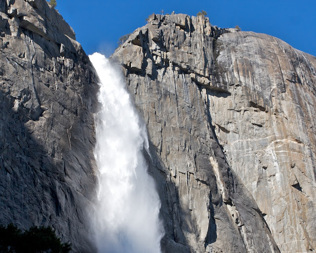 Yosemite Falls Peak Flow