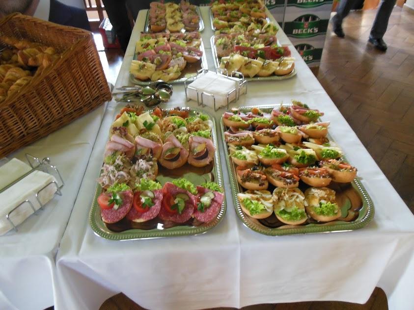 Bild vom Frühstück beim Barcamp Mitteldeutschland 2012
