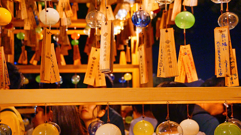 川越氷川神社 風鈴回廊 写真15